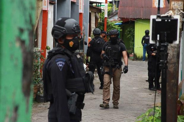 Polisi Tembak Mati Terduga Militan Terkait Bom di Gereja Makassar