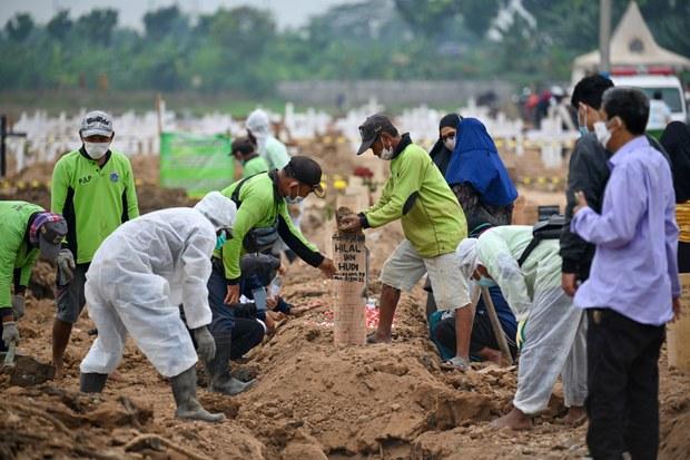 Indonesia Kembali Catat Rekor Kematian Harian, WHO Desak Perketat Pembatasan