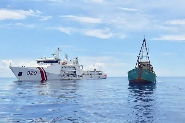 Indonesia Tangkap 7 Kapal Nelayan Vietnam
