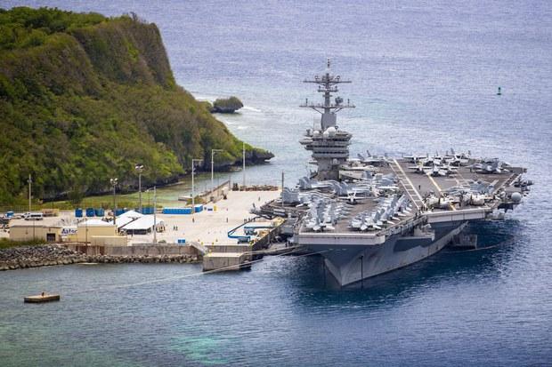 Kapal Induk AS Berlayar ke Laut Cina Selatan di Tengah Menegangnya Situasi