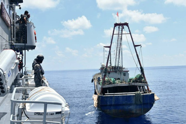 Kapal Survei Cina Terdeteksi Masuk Wilayah Perairan Selat Sunda