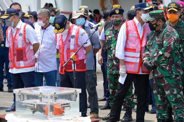 KNKT Berhasil Unduh Percakapan Kokpit Pesawat Sriwijaya SJ-182
