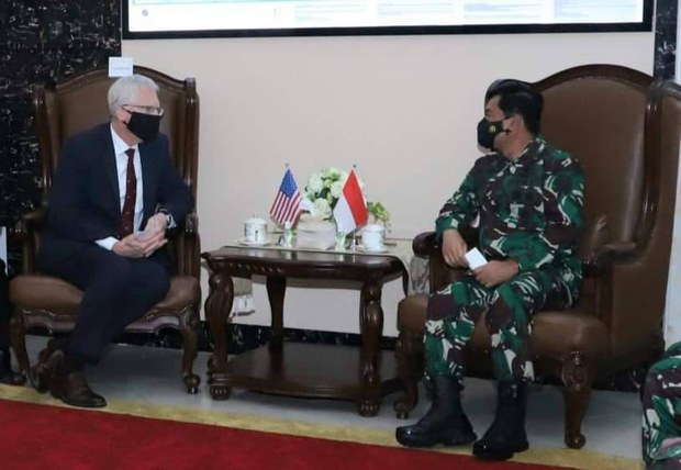 Plt Menhan AS Kunjungi Indonesia, Bahas Stabilitas Kawasan Indo-Pasifik