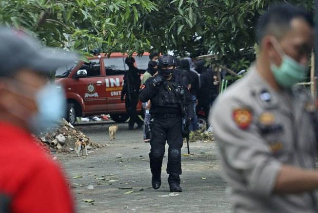 Polisi Tembak Mati 2 Terduga Militan di Makassar