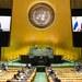 Perdana Menteri Thailand Prayuth Chan-o-cha berbicara secara virtual dari Bangkok dalam Sidang Umum tahunan ke-75 PBB di New York, 25 September 2020.