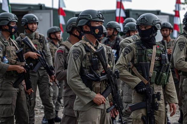Kontak Senjata dengan Mujahidin Indonesia Timur di Poso, 1 Brimob Tewas