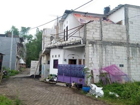 Rumah terduga militan bernama Budi Suryono (41) di Desa Sekarpuro, Kecamatan Pakis, Kabupaten Malang, Jawa Timur, 3 Maret 2021. [Eko Widianto/BenarNews]