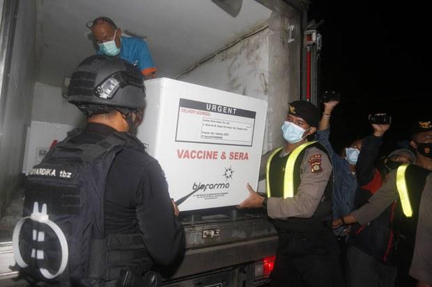 Indonesia Akan Mulai Vaksinasi COVID-19 Pekan Depan